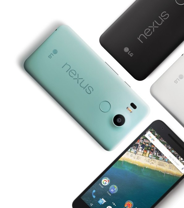 LG Nexus 5X pronti via