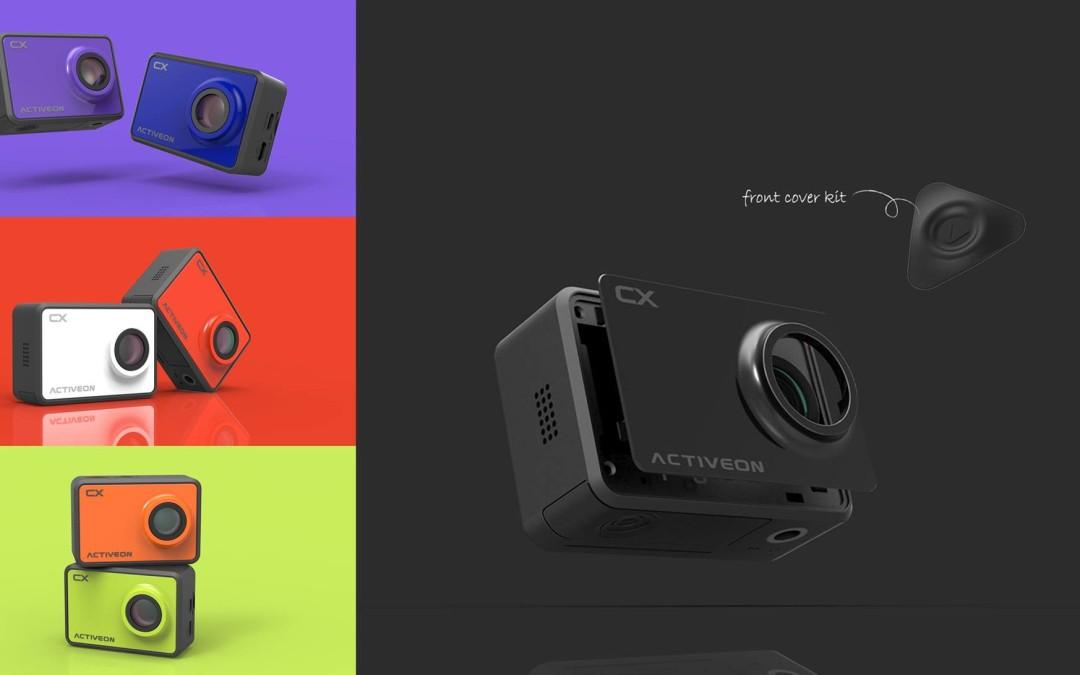 ACTIVEON CX: l'action camera ultra-compatta  dal peso piuma per prestazioni elevatissime