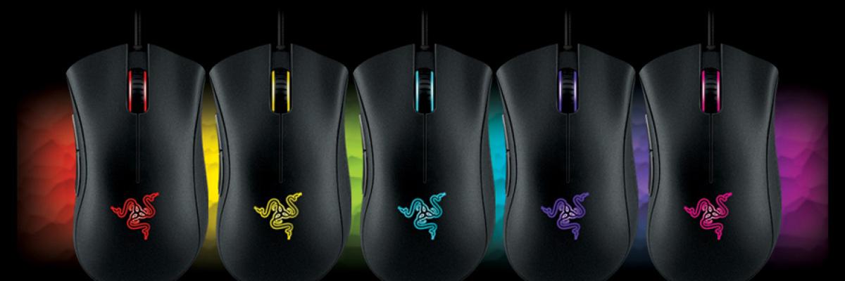 Mouse, tappetino e tastiera per il gaming da Razer