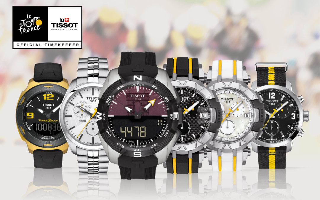 Tissot lancia la Tour de France Special Collection