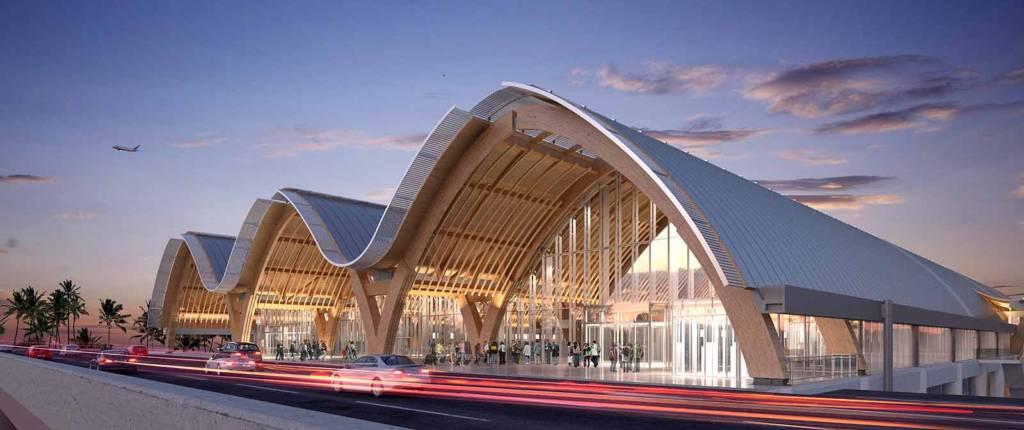 Da Rubner Holzbau il nuovo terminal in legno dell'aeroporto internazionale di Mactan-Cebu