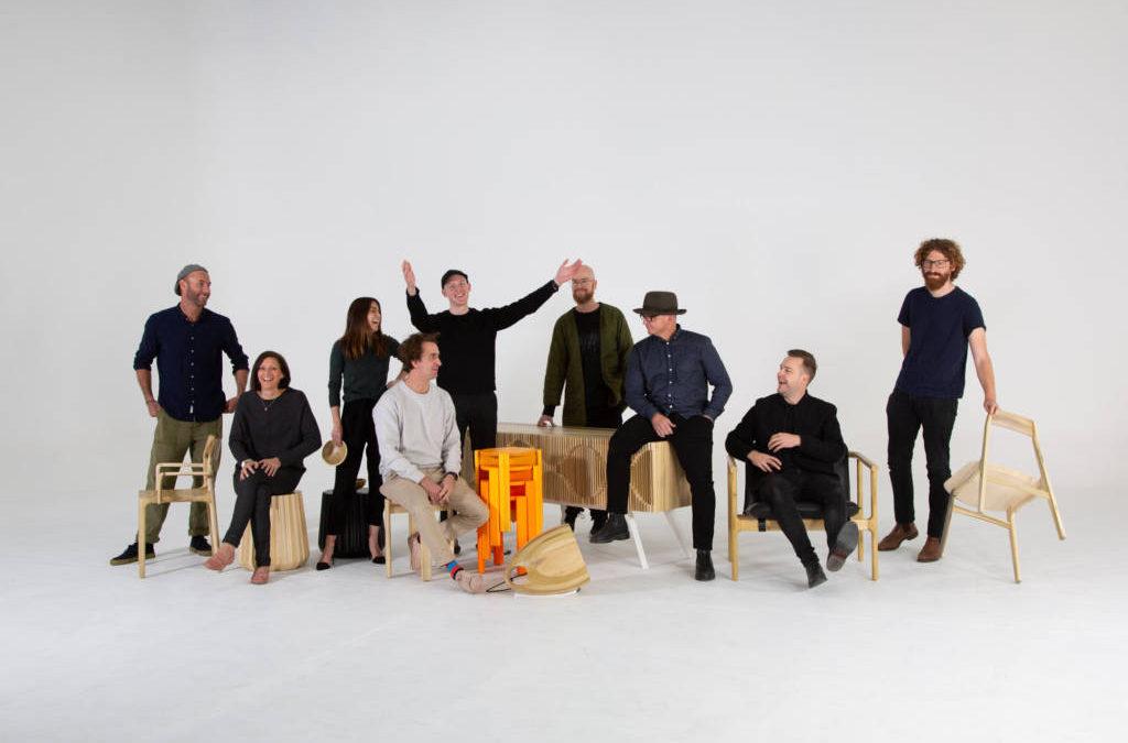 La sfida di AHEC a 8 dei più importanti designer australiani: reinterpretare i loro pezzi cult utilizzando il tulipier americano