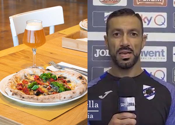 Pizza Eataly per il Gaslini con uno sponsor d'eccezione: Fabio Quagliarella