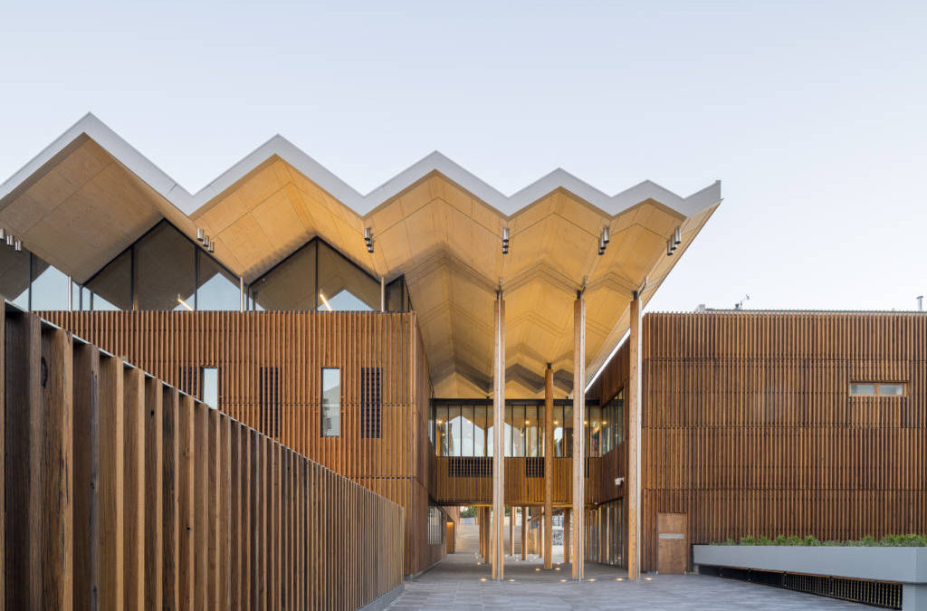 RUBNER HOLZBAU PLURIPREMIATA  AGLI AUSTRALIAN TIMBER DESIGN AWARDS 2020
