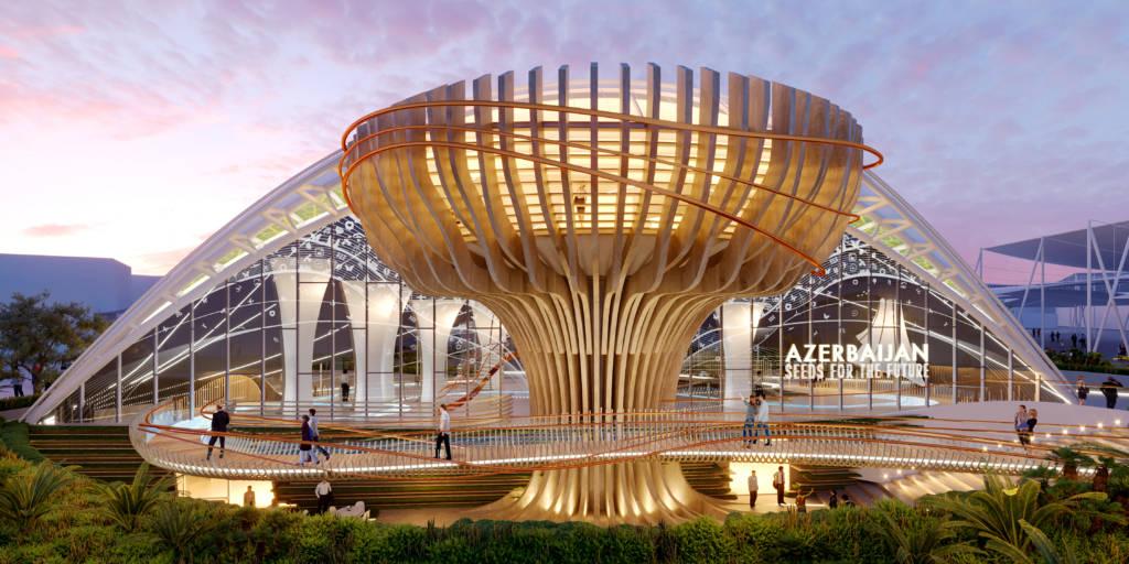 EXPO 2020 DUBAI: IL NUOVO PADIGLIONE AZERBAIGIAN SI ISPIRA ALLA NATURA