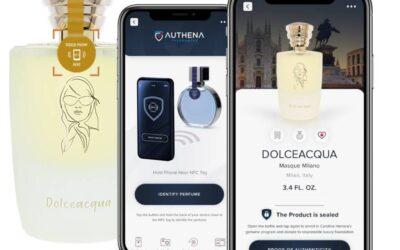 Authena e Masque Milano: blockchain e intelligenza artificiale  per tutelare la profumeria italiana dalla contraffazione